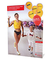 Large display standee